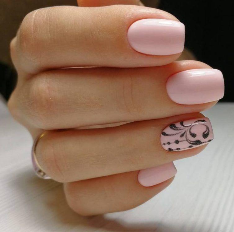 50 Short nails art photos Trends 2018 | Acrylic nail salon, Gel ...