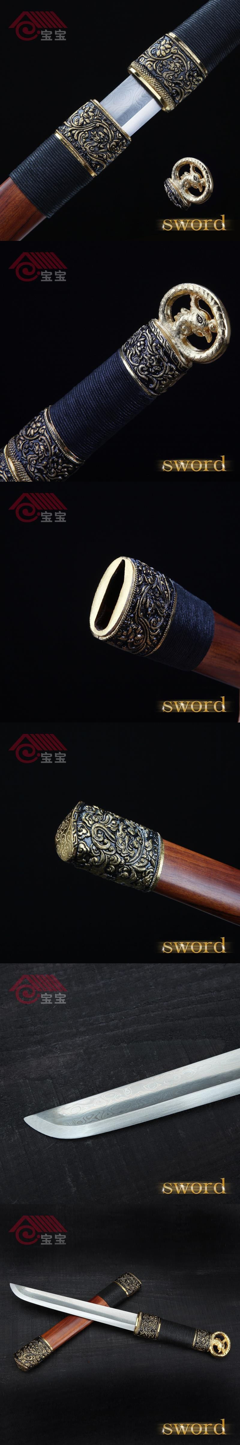 LQS15hj070017 hand making dagger vintage home decor phoenix short ...