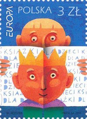 Poland - Europa 2010 Children's books stamp
