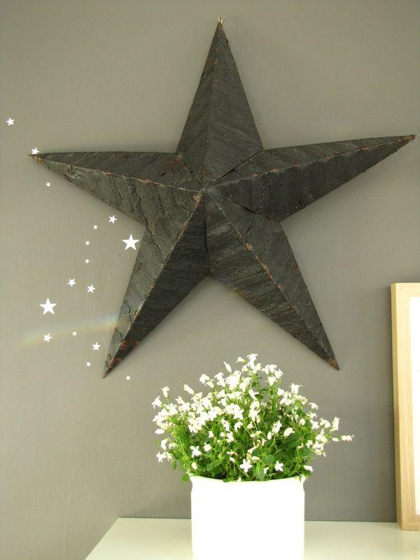 mon toile amish et sa voie lact e maisondecampagne d coration pinterest toiles. Black Bedroom Furniture Sets. Home Design Ideas