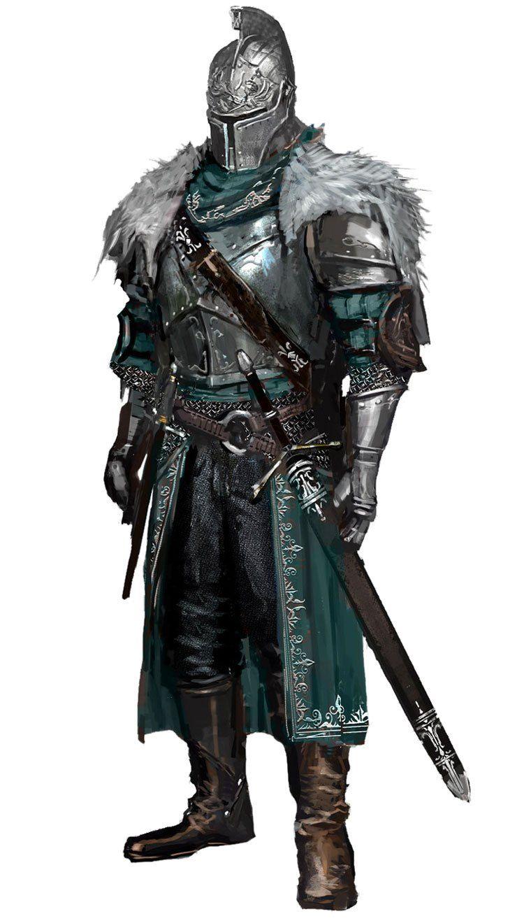 Dark Souls Character Design Process : Dark souls ii character art concept artwork west