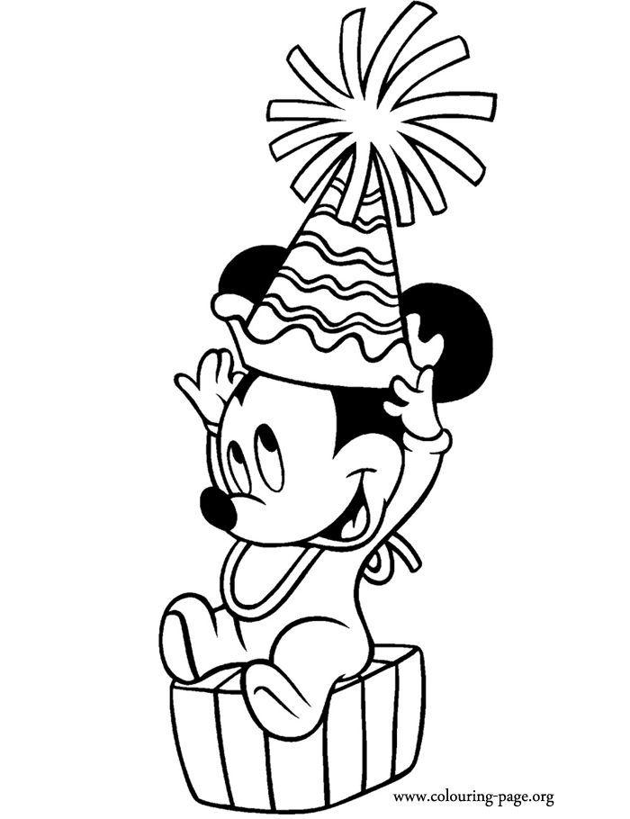 Resultado de imagen para mickey mouse bebe png para colorear | Para ...
