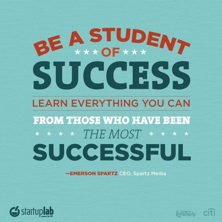 Pinterest Motivational Quotes For Students: Learn From Those Who Are Already Successful #career