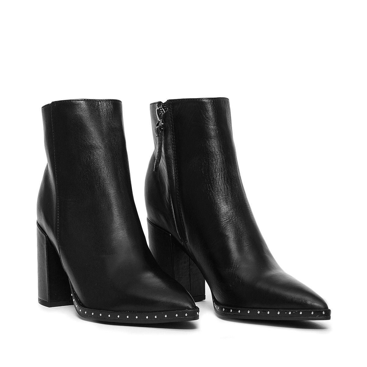 BAILEY Black Leather Tony Bianco