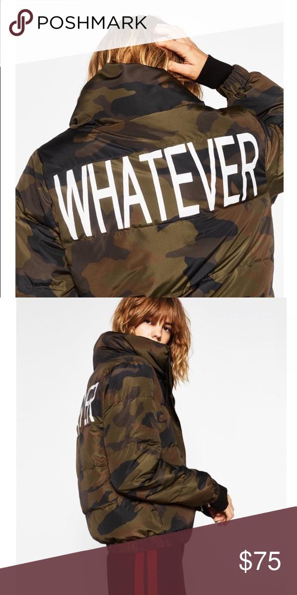 63e2d8dea7 Zara whatever puffy jacket Zara whatever puffy jacket Zara Jackets ...