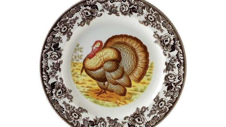 Spode Woodland Turkey Dinner Plates - Set of 4  sc 1 st  Pinterest & The Most Beautiful China Patterns for Your Fall Table | China ...