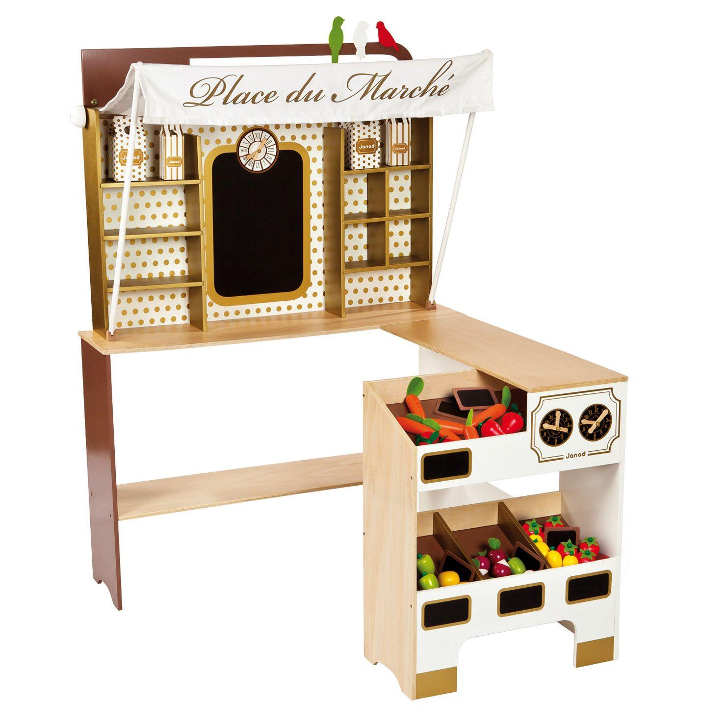 ACHICA | Janod My Own Market Stall | Playroom ideas | Pinterest ...