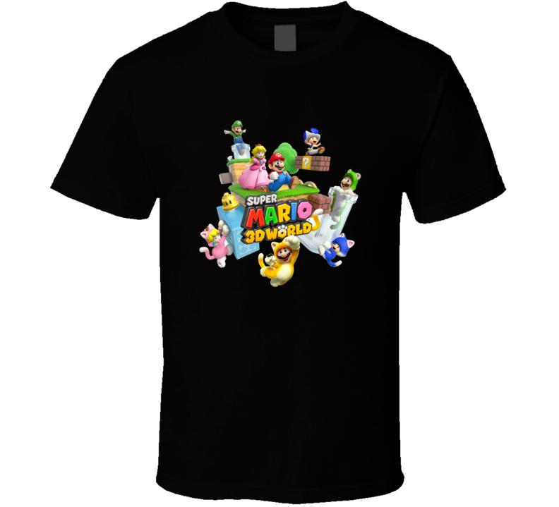 Super Mario World Games Shirts