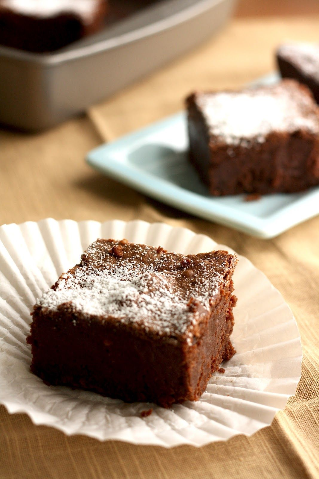 Mission Street Food's Sour Cream Brownie Bricks #sourcream