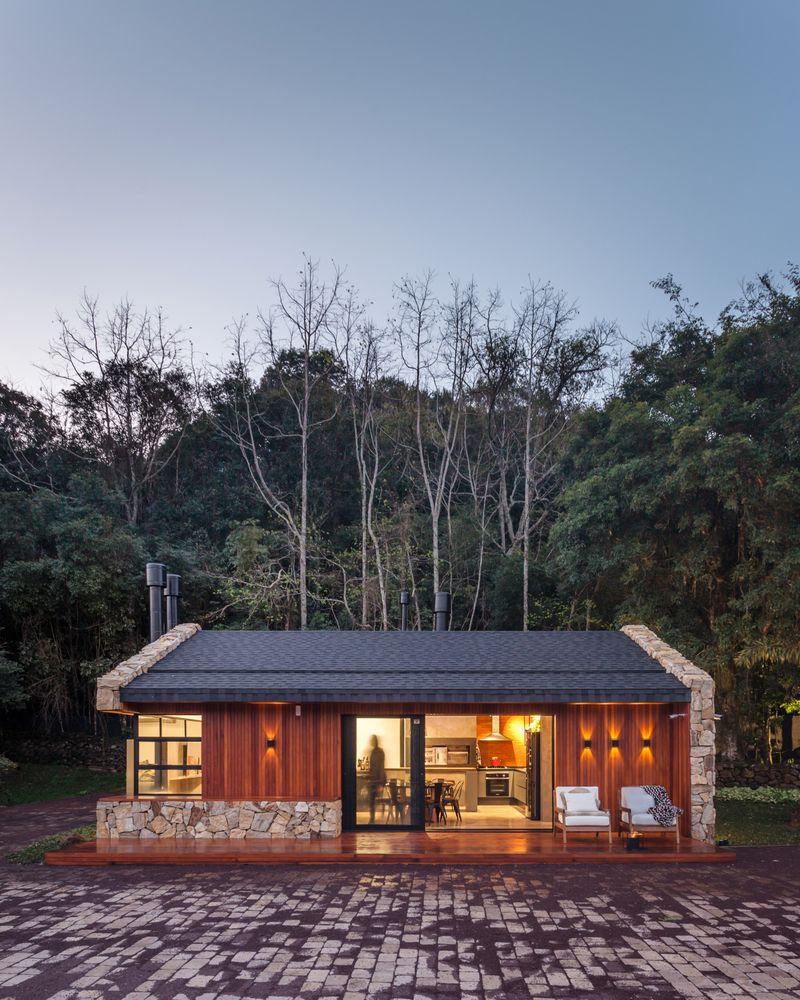 Gallery Of Lake House Cadi Arquitetura 20 Lake House Lake Houses Exterior House Design