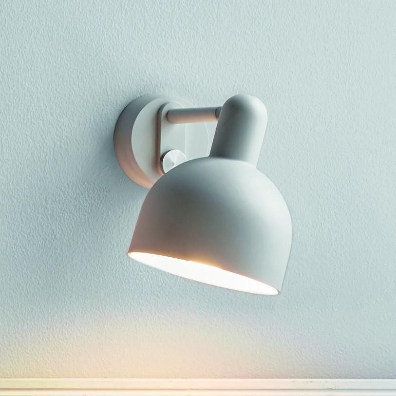 Danish Made Dimmable Wall Light White