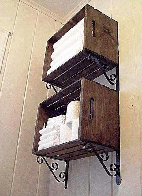 With barn wood DIY-Shipping Crate Ideas Pinterest Rústico