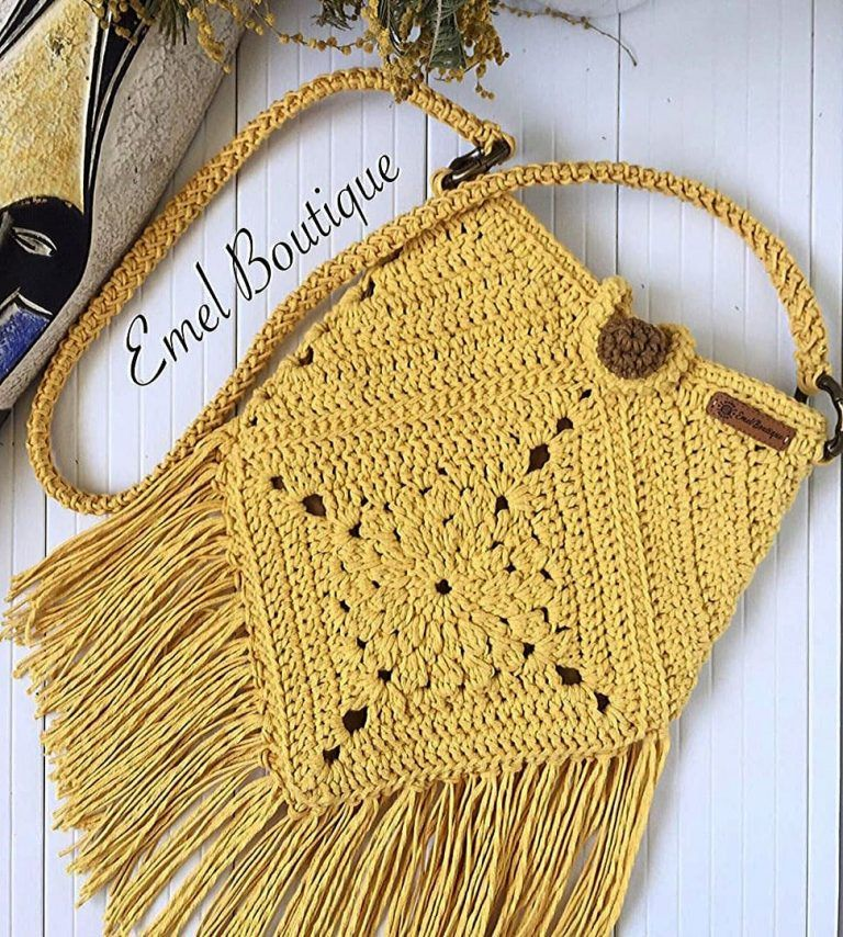 Crochet Bag Models Worth Seeing In August 2019 – Page 5 of 40