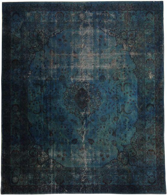 Source Loom Rugs Overdyed Vintage Rug 320x370cm