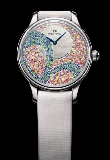 - Relojes de color: relojes de marca Jaquet Droz