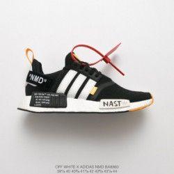 Adidas NMD R1 Triple White japan pk, Men's Fashion, Footwear