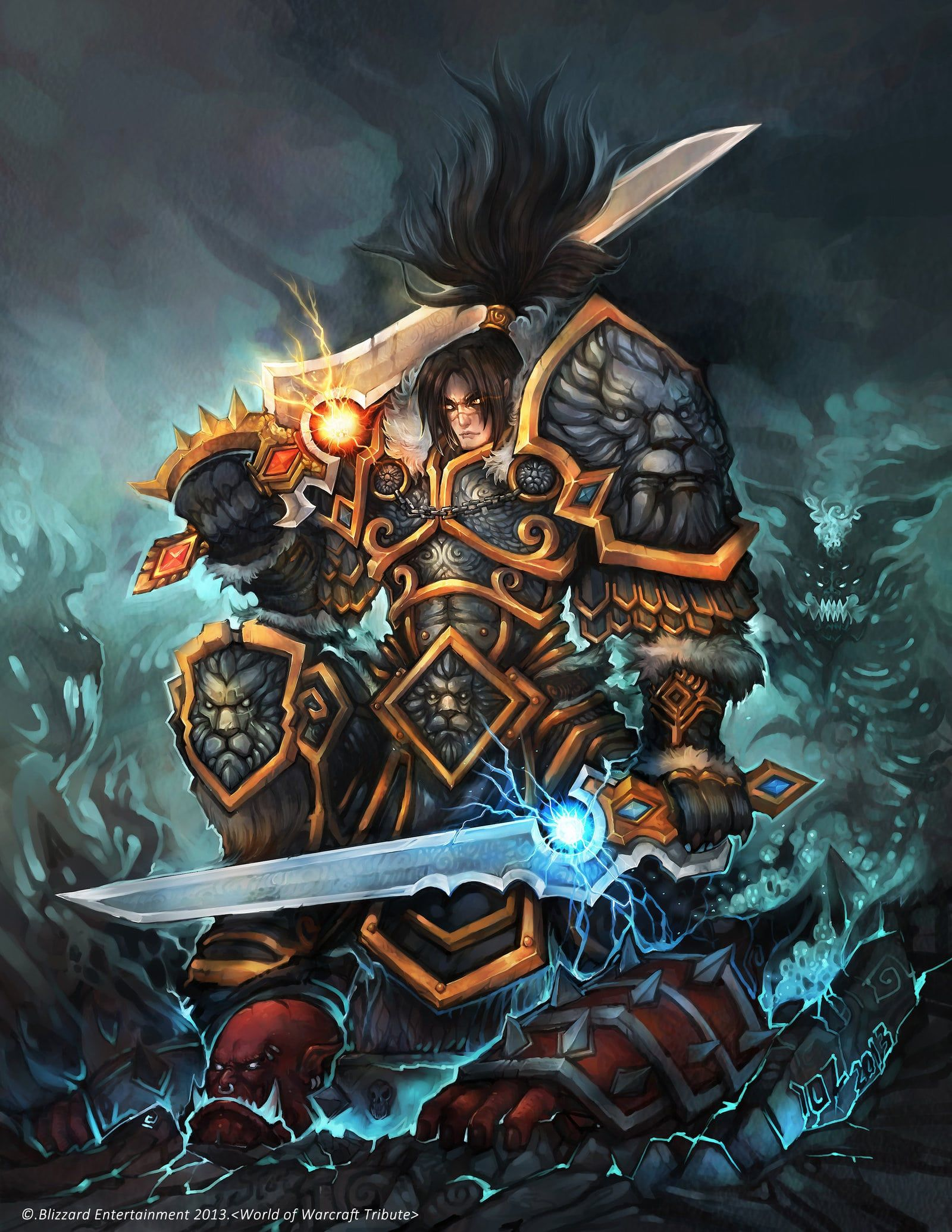 WOW Varian Wrynn HD Desktop Wallpapers