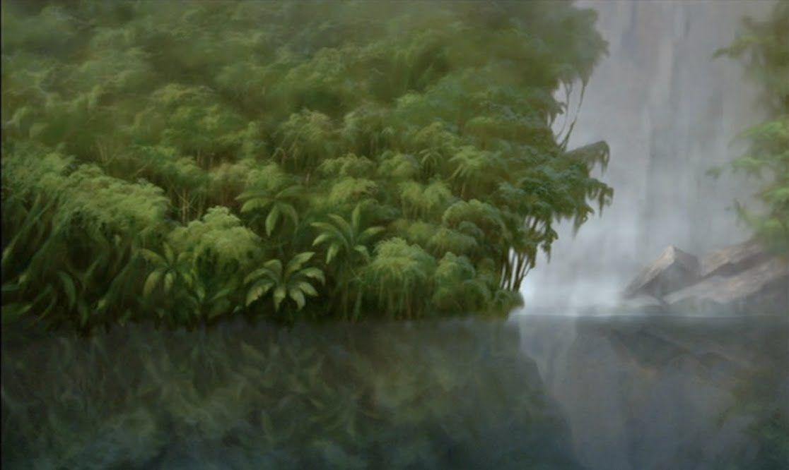 Empty Backdrop from Tarzan - disney crossover Image (29268374 ...