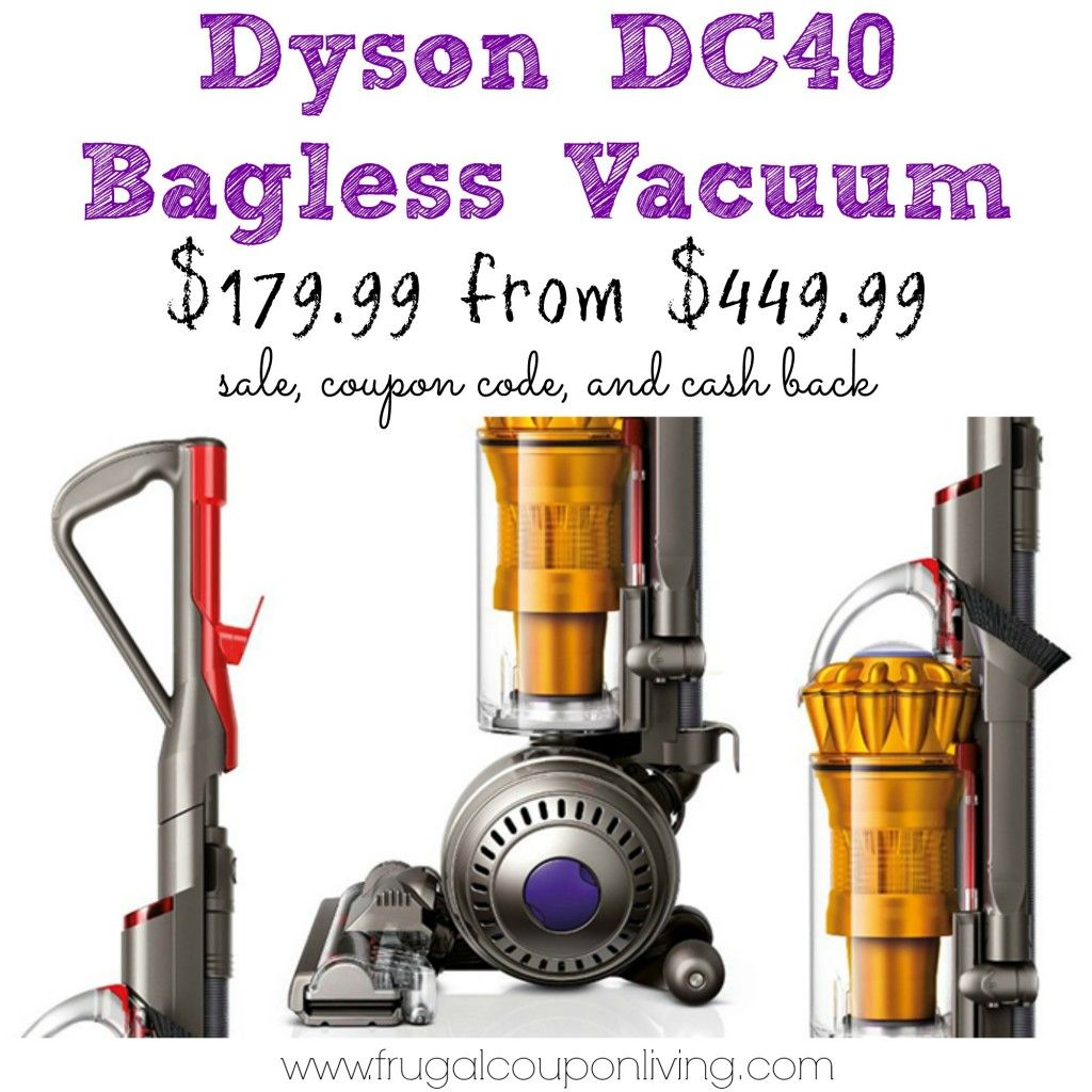 Black Friday Dyson Dc40 Vacuum Sale 180 From 450 Hurry Dyson Black Friday Bagless Vacuum