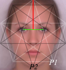 The Golden Ratio In 3d Human Face Modeling Valentin Schwind Golden Ratio Human Face Sacred Geometry