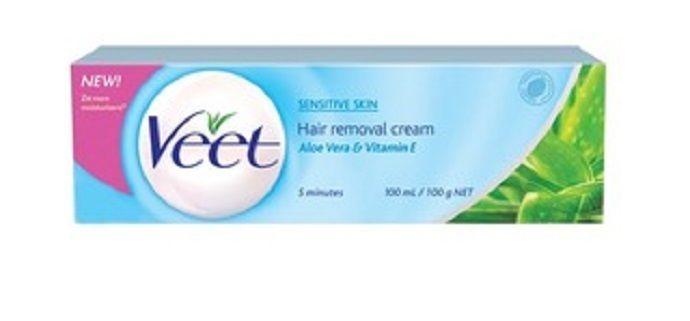 Veet Sensitive Skin Hair Removal Cream 25g Legs And Body Hair