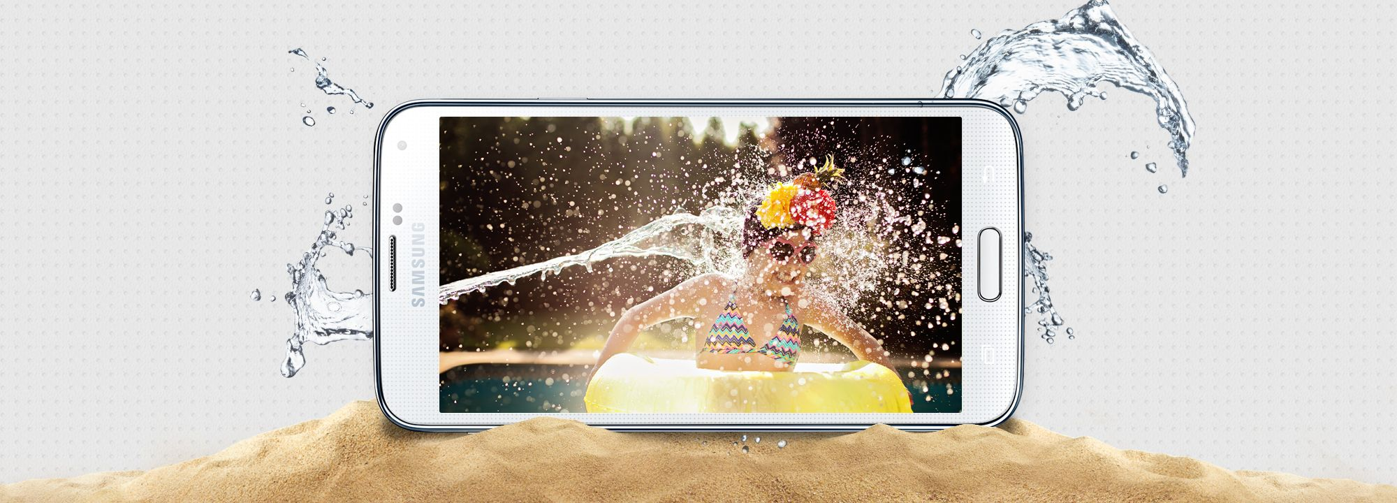 Dust Water Resistant With An Ip67 Certification Galaxy S5 Is