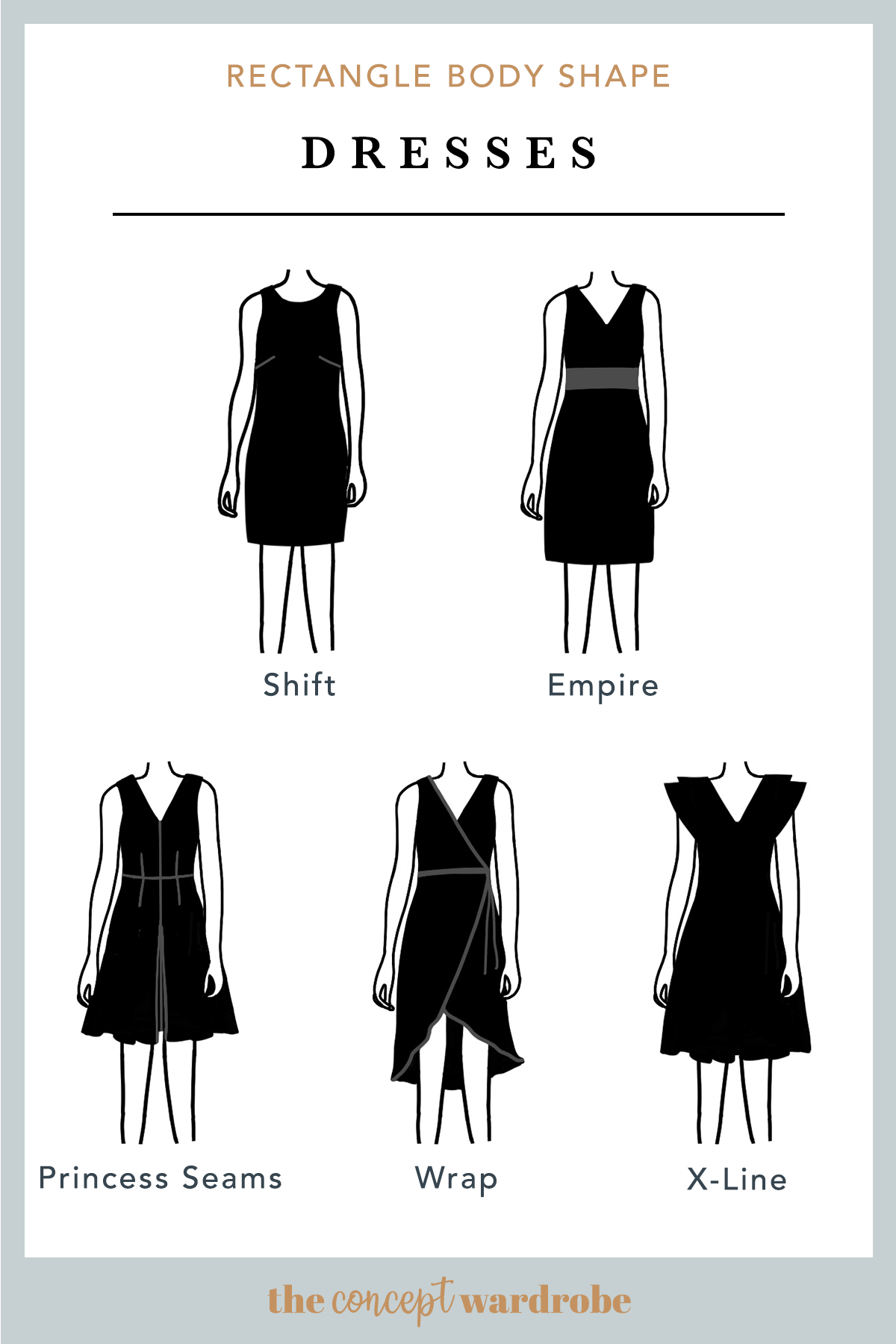 Rectangle Body Shape Dresses Rectangle Body Shape Rectangle Body Shape Outfits Body Shapes