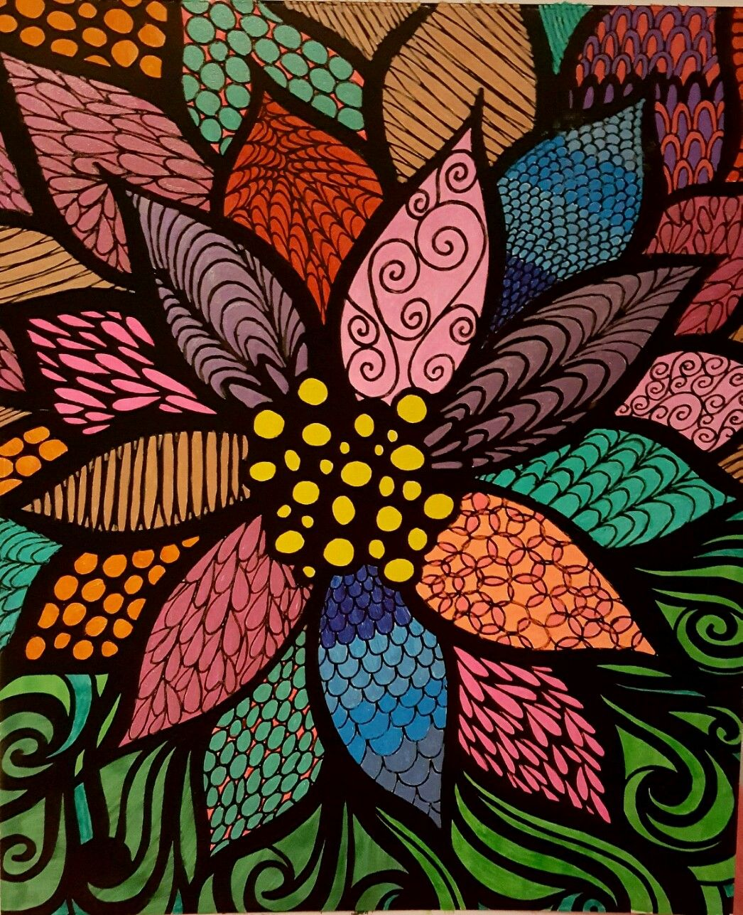 ColorIt Colorful Flowers Volume 1 Colorist Diane Cole Adultcoloring Coloringforadults Adultcoloringpages DianeAdult ColoringColoring BookColorful