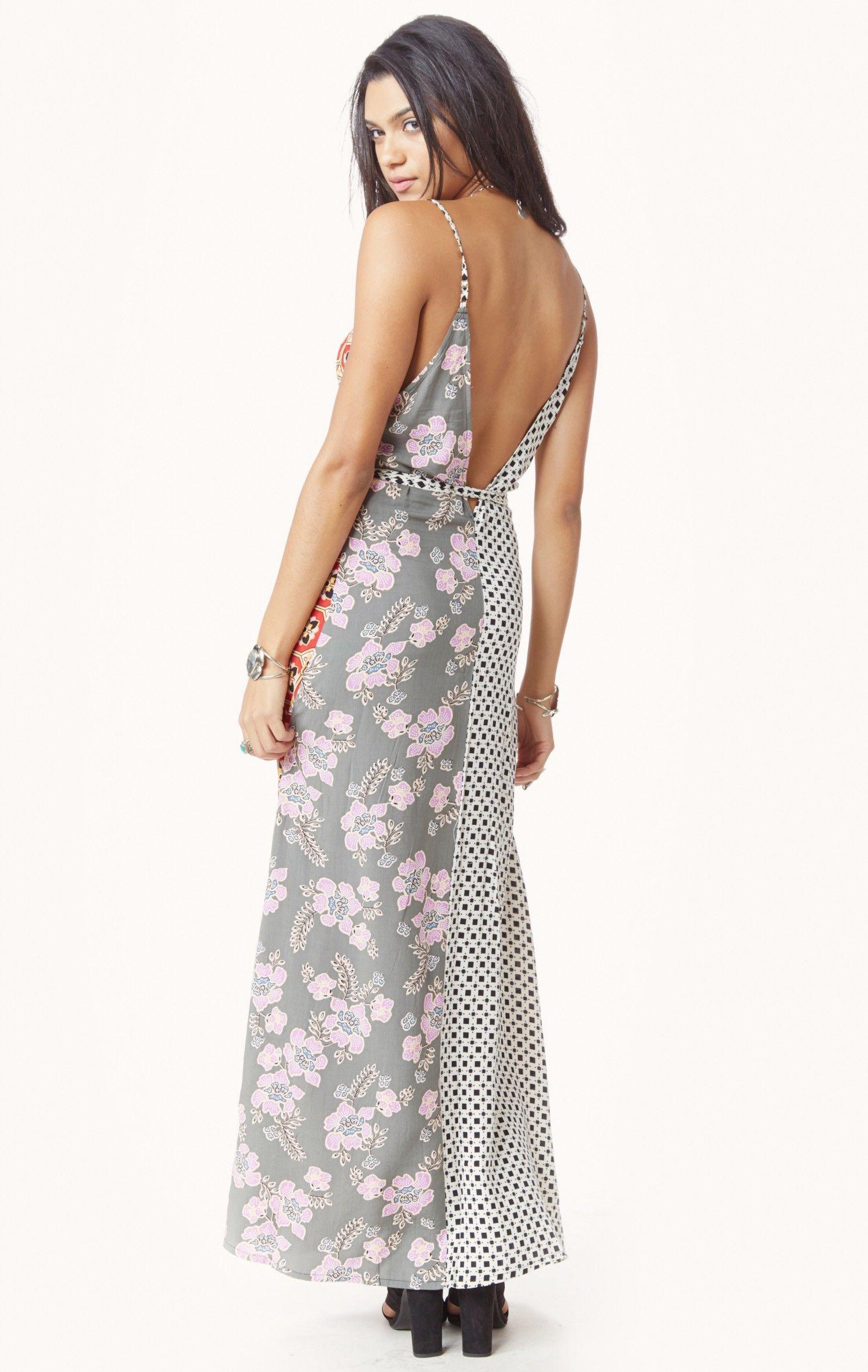 Talamanca maxi dress tigerlily