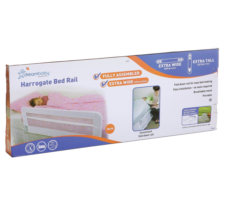 Buy Dreambaby Fully Assembled Harrogate Bedrail (109L X 45