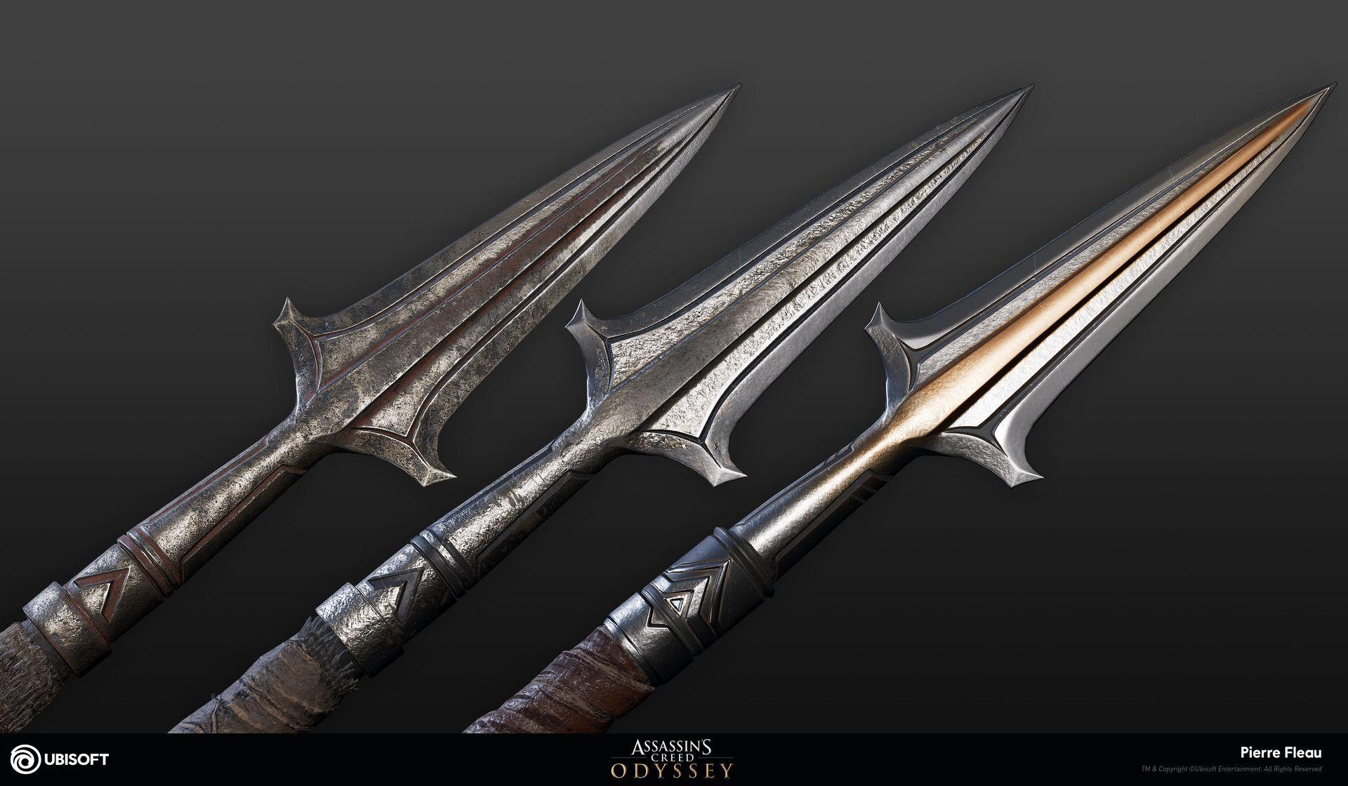 Artstation Assassins Creed Odyssey Level 1 3 Spear