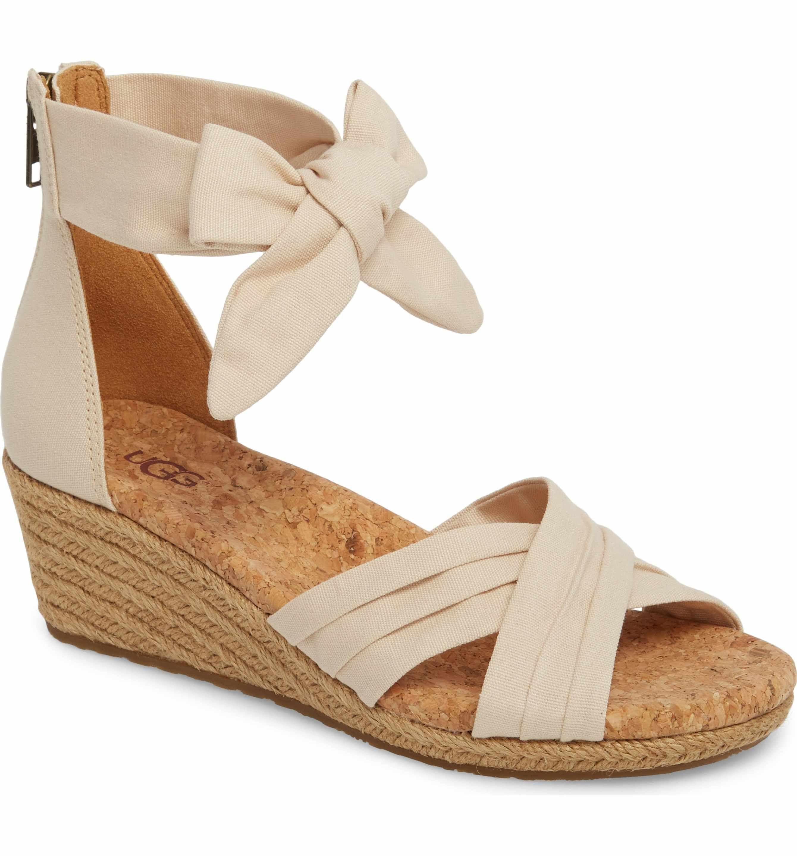 21a14f97e83 Main Image - UGG® Traci Espadrille Wedge Sandal (Women)