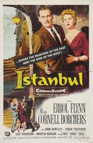 Istanbul is a 1957 American adventure–drama film directed by Joseph Pevney and starring Errol Flynn, Cornell Borchers and John Bentley. It is a remake of the film Singapore with the location of the action moved to Turkey. The plot involves an American pilot who becomes mixed up with various criminal activities in Istanbul.