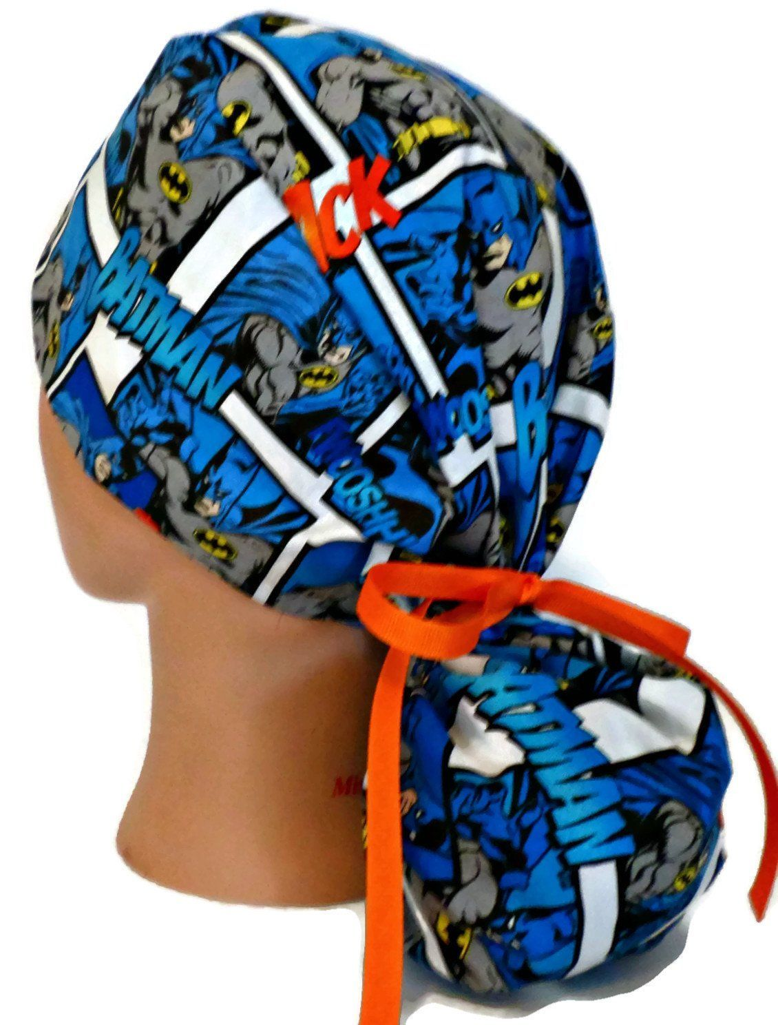 Amy Hairstyle Scrub hats, Ponytail scrub hat, Surgical