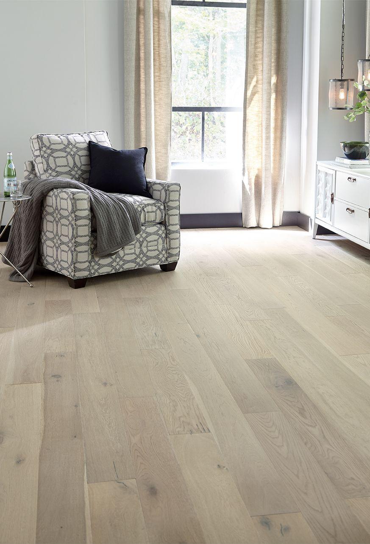 Castillian White Oak Stone White Oak Floors Log Home Interior