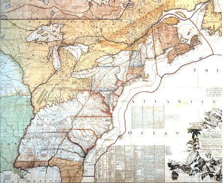 Map: Revolutionary War Battles, 1775 - 1778