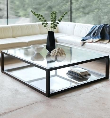Enchanting Gl Coffee Table Images Idea Or Por Of And Metal