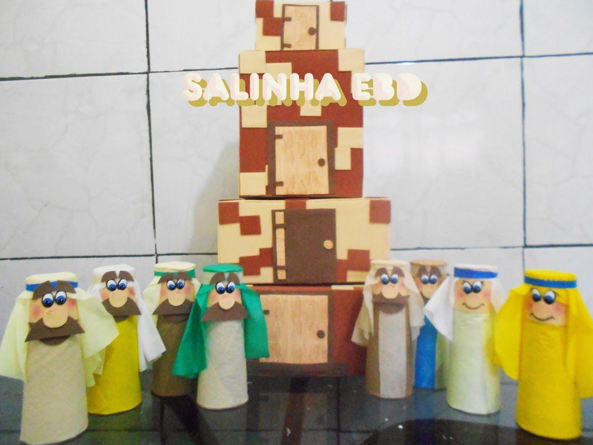 Salinha Ebd Torre De Babel A Confusao Das Linguas Com Imagens