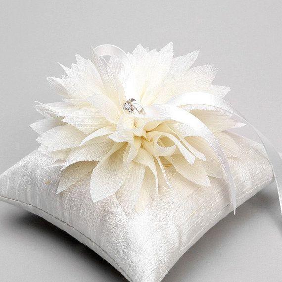 Wedding Ring Pillow Bridal Flower By Woomipyo 4000