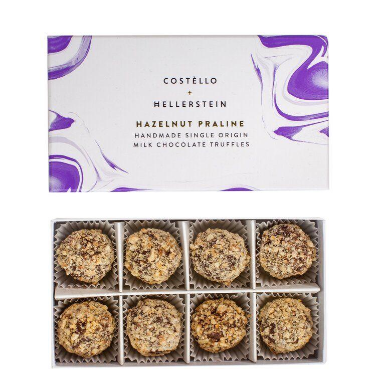 Hazelnut praline chocolate truffles costello