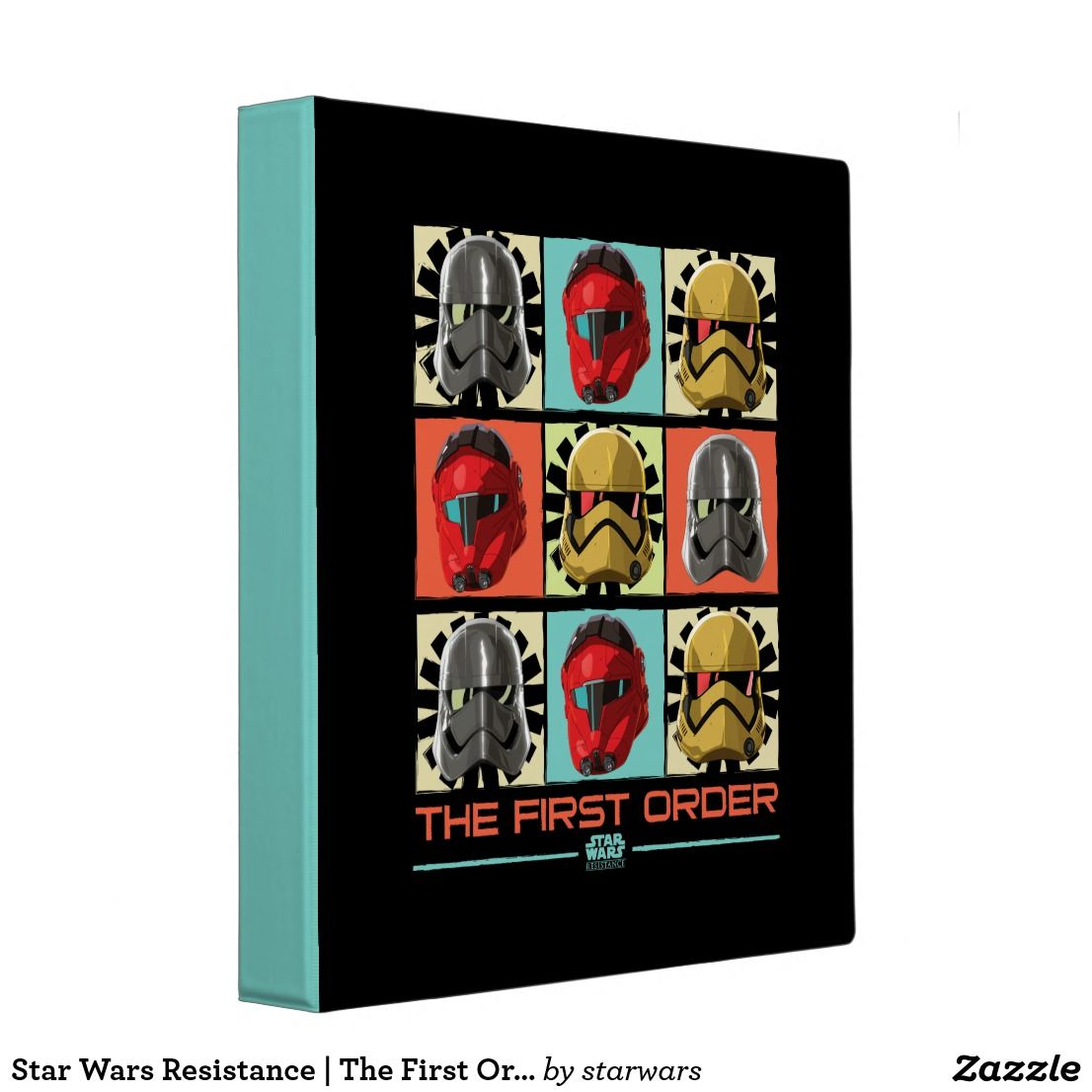 The First Order 3 Ring Binder