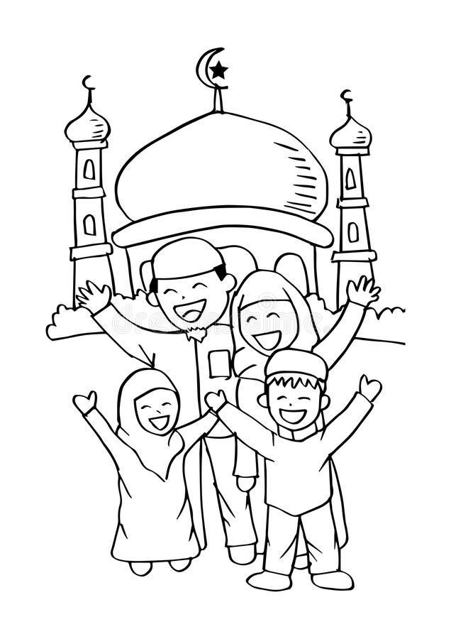 Pin Oleh Acakadul Squad Di Mesjid Dengan Gambar Buku Mewarnai
