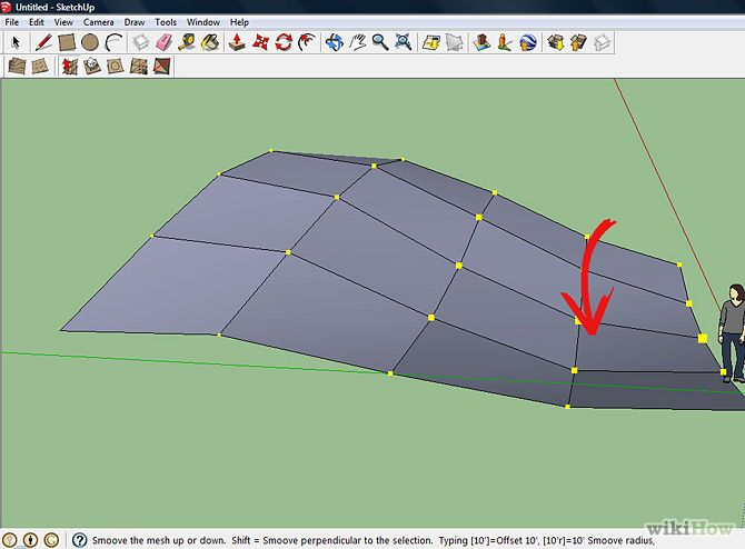 Make Basic Terrain In Sketchup Basic How To Make Terrain