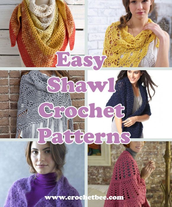 These Easy Shawl Crochet Patterns Are Sure To Come In Handy During
