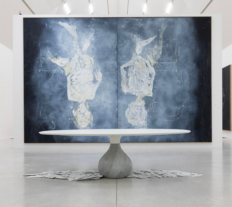 Roche Bobois Aqua Dining Table Designed By Fabrice Berrux Unterlinden Museum Colmar France Green Interior Design Dining Table Design