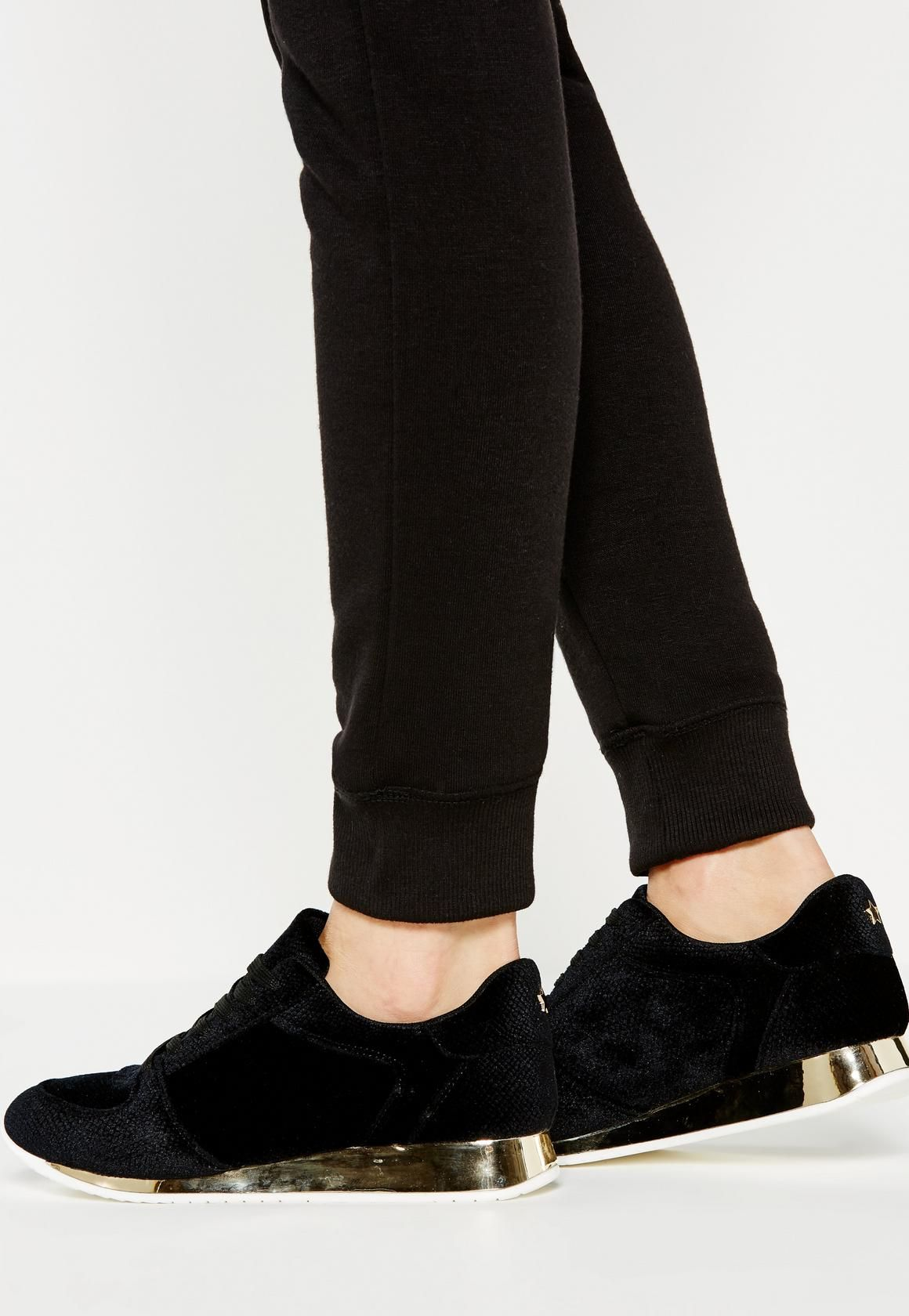missguided black trainers
