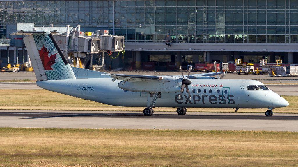 Bombardier De Havilland Canada DHC 8 301 C GKTA Air Canada