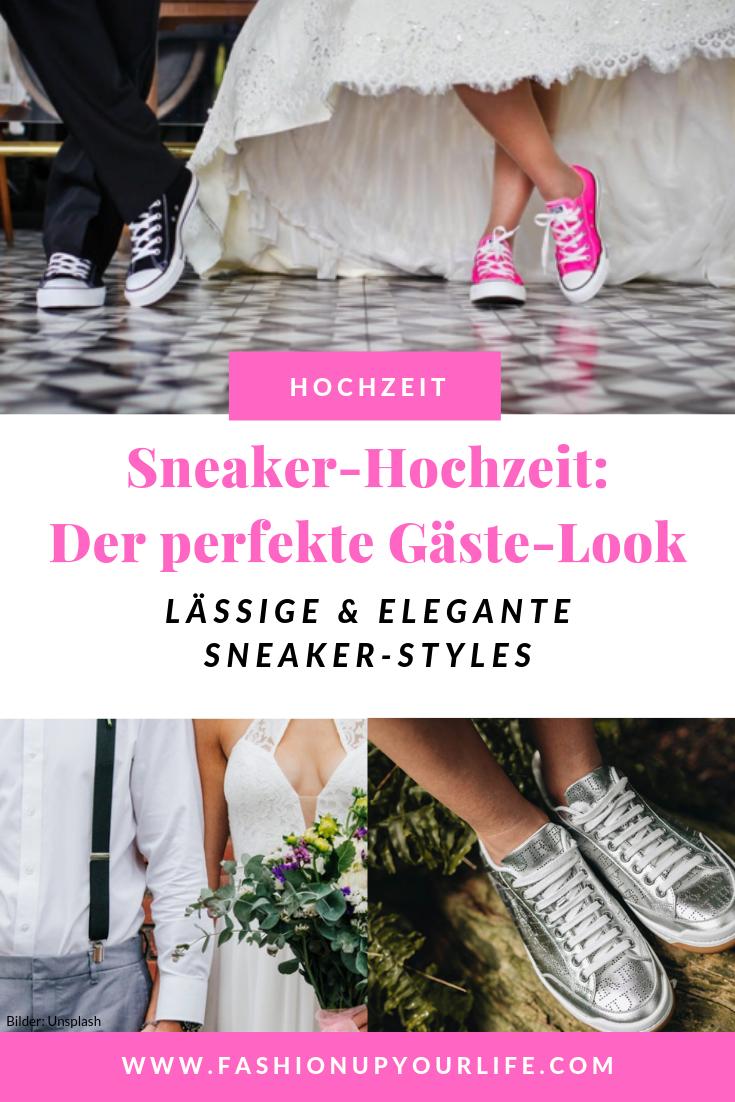 Sneaker Hochzeit Der Perfekte Gaste Look Engelhorn Journal Hochzeit Braut Brautpaar