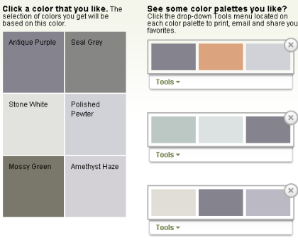 Great Colors Color Palette Generator Brush Stroke Art Color Schemes