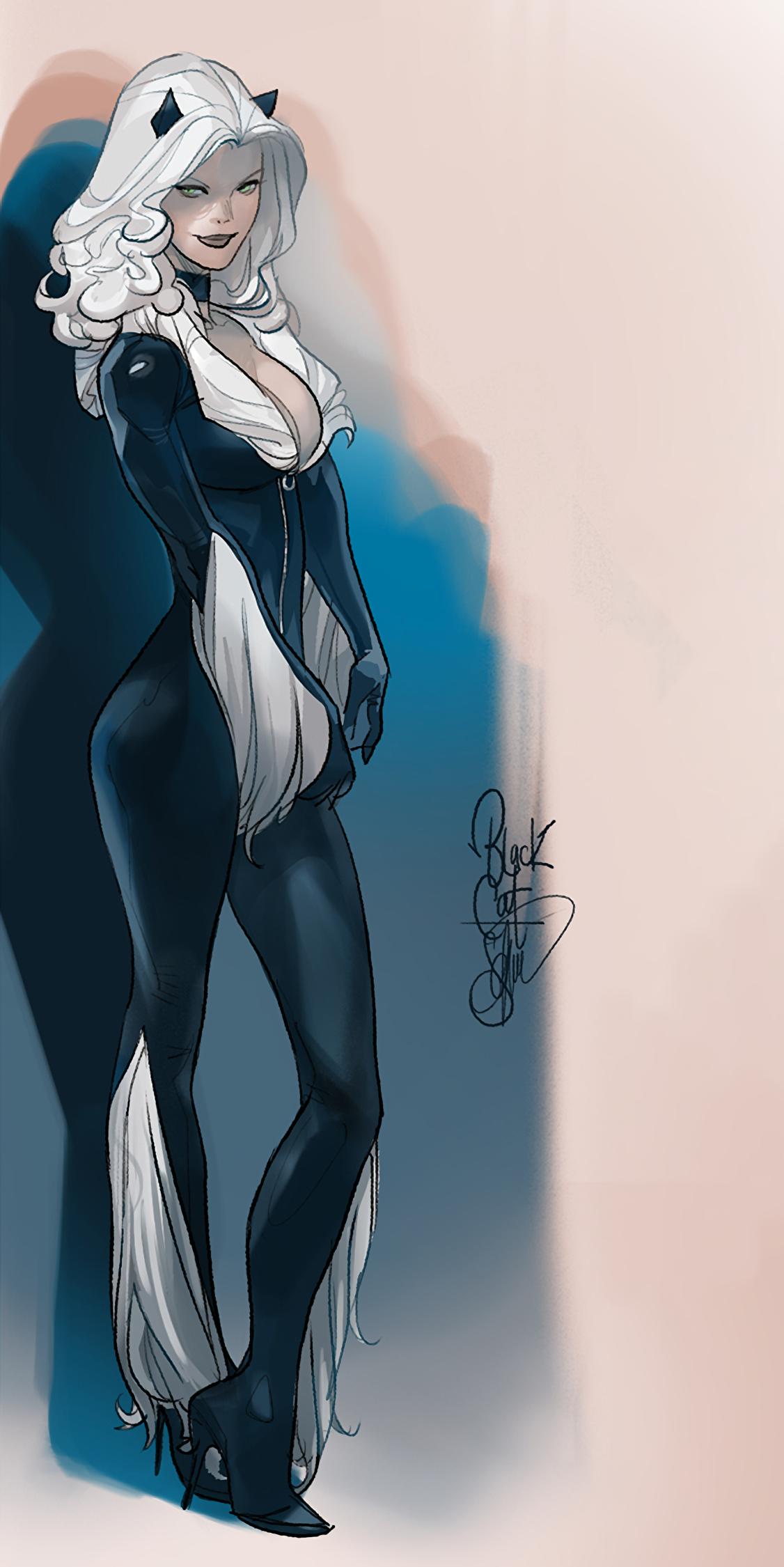 Ms Hardy Black Cat Otto Schmidt Black Cat Marvel Black Cat Marvel Comics Spiderman Black Cat